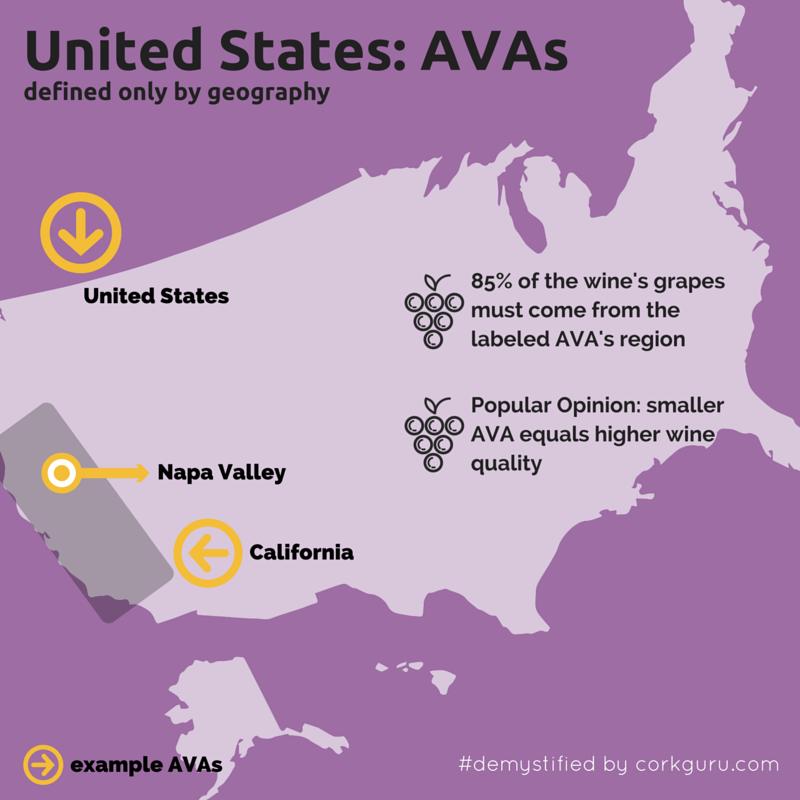 CorkGuru Digital Wine Platform Guest Loyalty IPad Wine List - Map of the united states with abbreviations